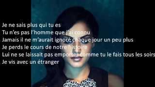 Sarah Riani- L'étranger Paroles