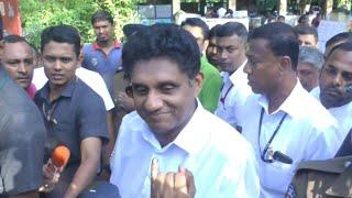 Sri Lanka: Premadasa votes in presidential election | AFP