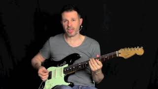 Hot Licks - Exercises And Creative Tips For The Electric Guitarist Taught By Alberto Lombardi