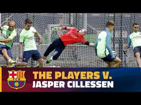 Who will score the most past Cillessen?