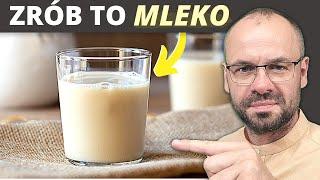To mleko uratuje Twoją wątrobę i jelita. Robimy mleko z ziaren słonecznika.