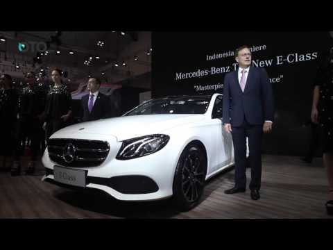 Mercedes-Benz All New E-Class Memulai Debut Perdananya di GIIAS 2016 | Oto.com