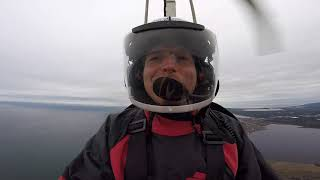 Riding In A Gyrocopter in Gulf Shores, Alabama