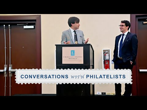 Conversations With Philatelists Ep. 66: Great American Stamp Show 2021: Tiffany Talk