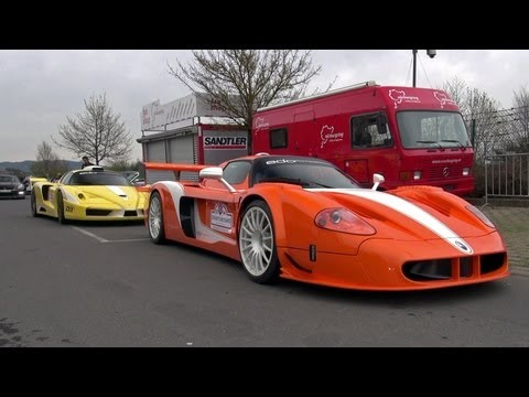 Maserati MC12 Corsa & Ferrari Enzo ZXX by Edo Competition!