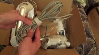PUPPYOO Home Portable Vacuum Cleaner WP521 Gold unboxing.