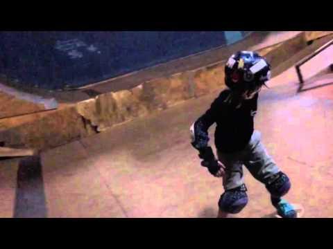 Josiah Jones Jo Jo Skateboarding at Four Seasons Indoor Skatepark