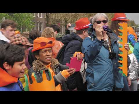 King's day in Holland