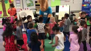 APEX Fun Run Dana Elementary TK Stallion Dance Party 2017