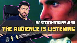 The Audience Is Listening by Steve Vai - Guitar Lesson w/TAB - MasterThatRiff! 90