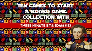 10 games to start a board game collection with