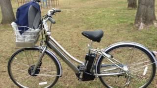 ブリヂストンの最新の電動自転車に乗る!!