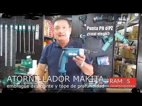 Elegir atornillador eléctrico Makita