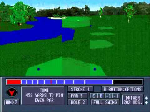 Jack Nicklaus' Power Challenge Golf Megadrive