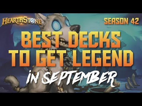 Download Hearthstone - Top Decks to Climb Ladder in September 2017 (Season 42) (Report #61) HD Mp4 3GP Video and MP3