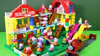 Peppa Pig Legos House Construction Sets - Lego Duplo House Creations Toys For Kids #9