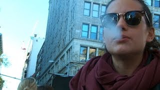 Young Smokers Respond To NYC