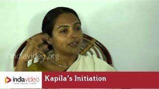 Kapila's Initiation to Kutiyattam