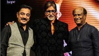 Shamitabh Music Launch- Amitabh Bachchan, Rajinikanth, Kamal Haasan, Dhanush