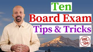 10 Important Board Exam Tips To Score Good Marks