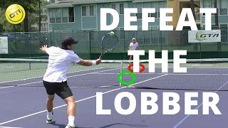 Tennis Tip: Defeat The Lobber   Net Domination Video #3