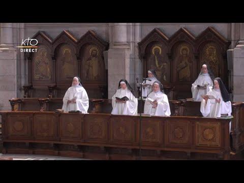 Prière du Milieu du jour du 31 mars 2021 des Bénédictines du Sacré-Coeur de Montmartre