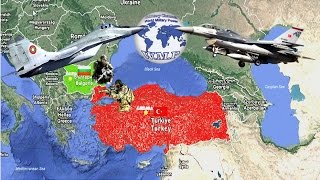 Turkey VS Bulgaria Military Power Comparison 2017 -2018