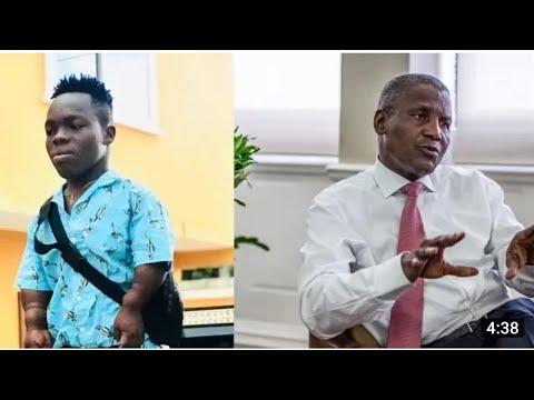 "Dangote ""Runs Away"" As SHATTA BANDLE Lands In Nigeria"