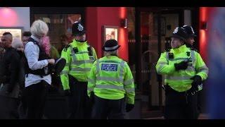 Transgender Police Officer in Public