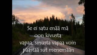 Jukka Poika - Se ei satu enää (lyrics)