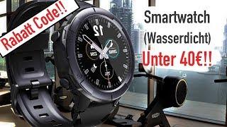 BESTE SMARTWATCH UNTER 40€ (WASSERDICHT!!)