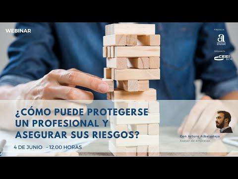 Webinar ¿Cómo puede protegerse un profesional y asegurar sus riesgos?[;;;][;;;]