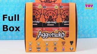 Aggretsuko Vinyl Mini Series Kidrobot Blind Box Figure Opening   PSToyReviews