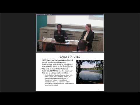Fundamentos de la Ley de Agua Limpia (Escuela de Verano ELI 2017)