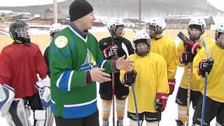 Хоккейная Коробка в Белокатае. Автор В/С Н.Вольф