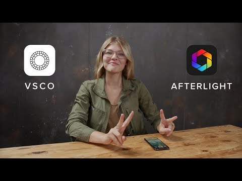 VSCO + Afterlight | Simple Editing Tutorial