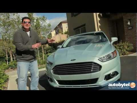 2013 Ford Fusion Hybrid Video Review