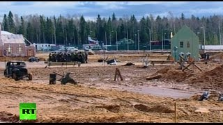 Patriot Park: Reenactment of last 2 days of WW2
