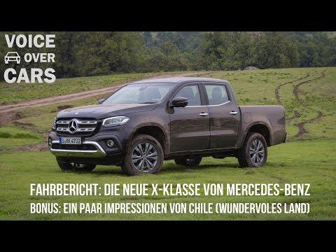 2018 Mercedes-Benz X-Klasse X250d Fahrbericht Probefahrt Kaufberatung Fakten Test Pickup Vergleich