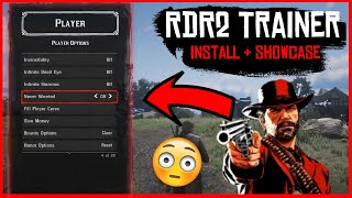 How To Install jedijosh920's RDR 2 Trainer and Showcase in Red Dead Redemption 2 - RDR2 PC Mods