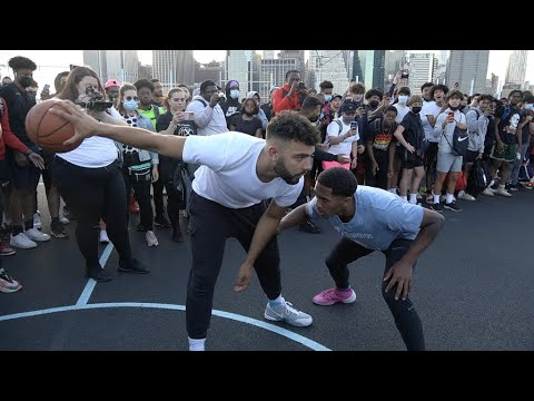 New York City SHOWED OUT.. The Most EPIC Park SHUTDOWN (Mic'd Up 5v5)