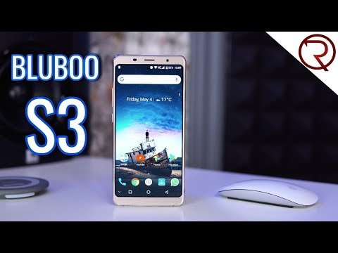 Bluboo S3 Smartphone REVIEW – 8500mAh, NFC, 6″ 1080P Screen