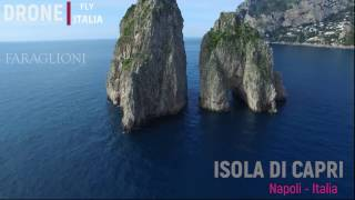 ISOLA DI CAPRI  2017 OSSERVATA DAL DRONE   ---- Isle of Capri observed by a drone