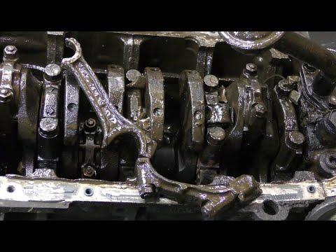 Разбор двигателя G4EC Hyundai 1.5 / Пробило блок ( братский кулак )
