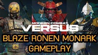 Modern Combat Versus - Blaze | Ronen | Monark Gameplay