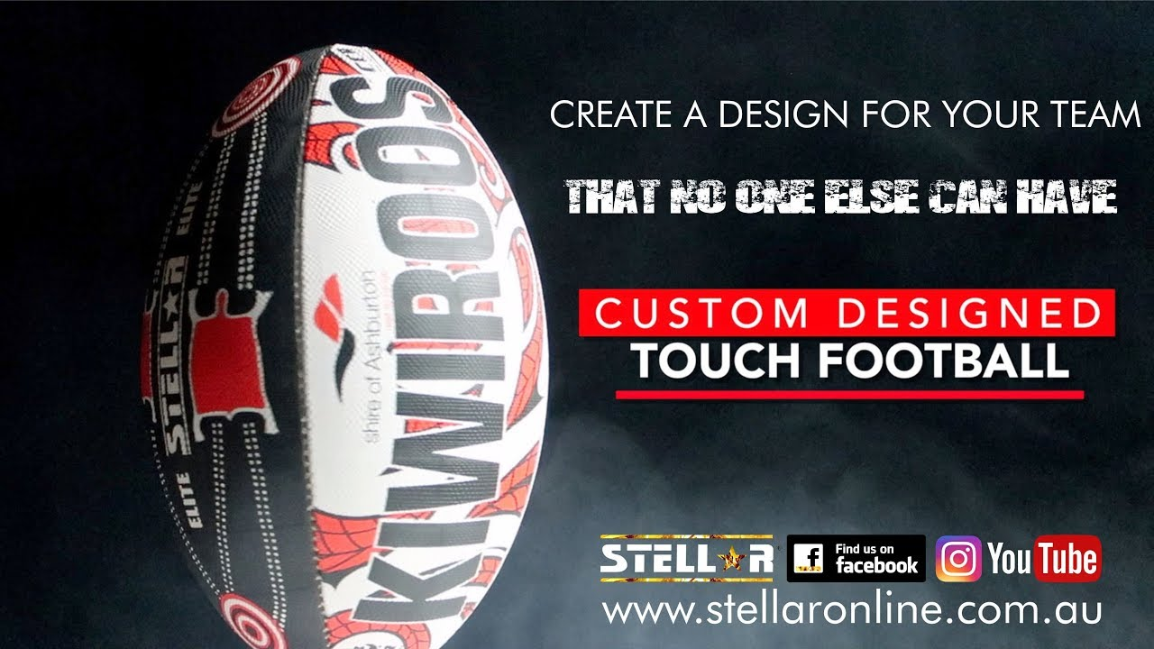 Custom Designed Touch Football