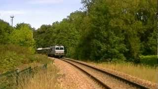 preview picture of video 'CC 72049 et CC 72084 SNCF Train special AJECTA  PROVINS . LONGUEVILLE .MP4'