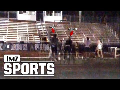 Robert Griffin III Restrained In Altercation At FSU Track   TMZ Sports