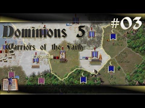 Dominions 5 Warriors of the Faith #03 Venarus - Mein 2tes Spiel & Versuchte Erklärungen [Deutsch]