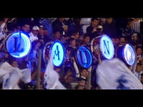 """""""Mi corazón pintado de albiazul - La AD MTY 0 AME 3 Semifinal AP2014"""" Barra: La Adicción • Club: Monterrey"""